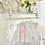 Thumbnail: Baby Girls 2 piece Dress Set - WHITE/PINK