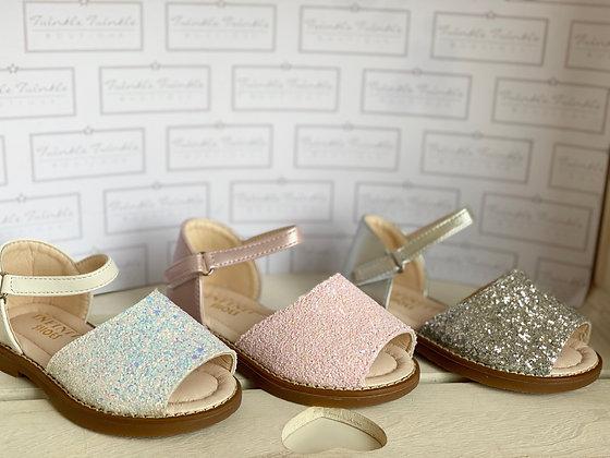 Sparkle Sandals - SILVER