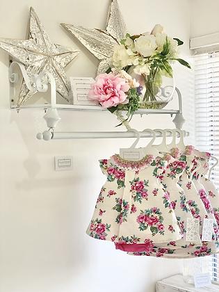 Baby Girls Rose Dress Set