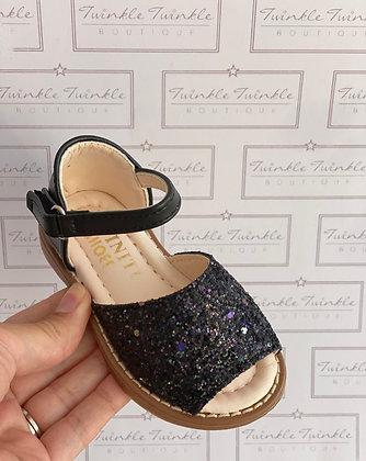 Sparkle Sandals- BLACK