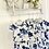 Thumbnail: Girls Floral Frill Lougewear set - NAVY