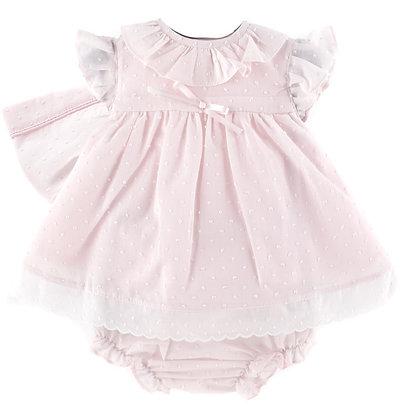 Baby Ferr- Pink 3  Piece Dress Set