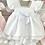 Thumbnail: Girls White Dress Set 3m - 24m