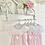Thumbnail: Baby Girls Pink Dress & Pant Set