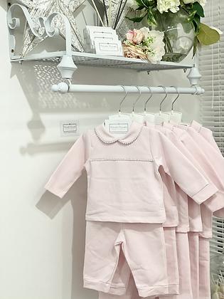 Baby Girls Diamond Loungewear set - PINK