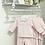Thumbnail: Baby Girls Diamond Loungewear set - PINK