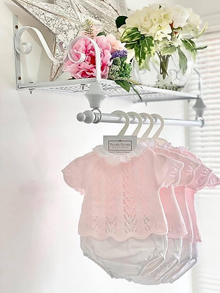 Baby Girls jam pant set  - PINK