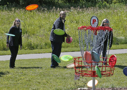 Disc Golf in Greater Akron