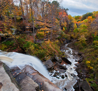 Brandywine Falls - Cuyahoga Valley National Park - Ohio's Only - 7th Most-Visited in the U.S. in 2020