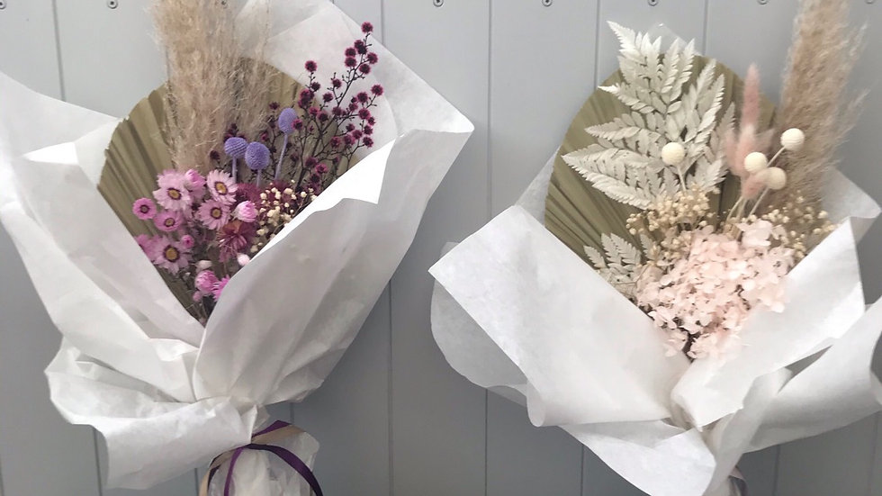 Beautiful preserved large Bouquets