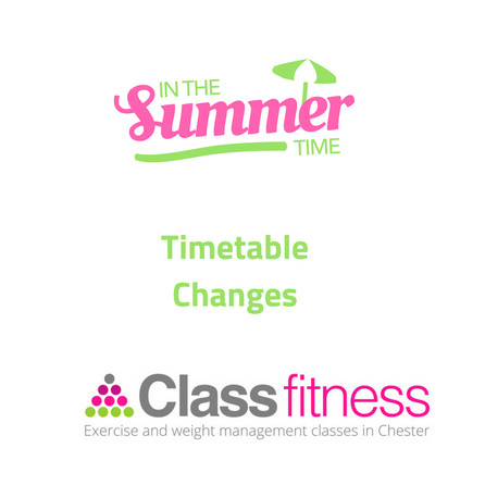 Summer Timetable Changes