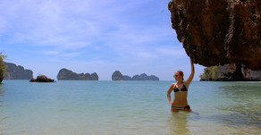 Thailand Travel Blog #7: Krabi Island Tour - Hong, Rai, Koh Phak Bia, Lading