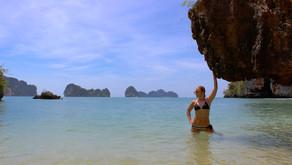 Thailand Travel Blog #7: Krabi Island Tour - Hong, Rai, Koh Phak Bia, Lading