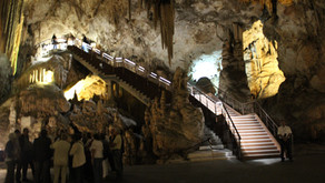 Visiting the Caves of Nerja