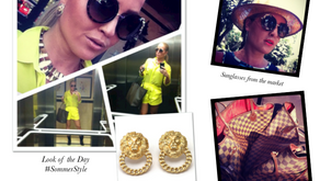 Yellow Summer Look #SommerStyle