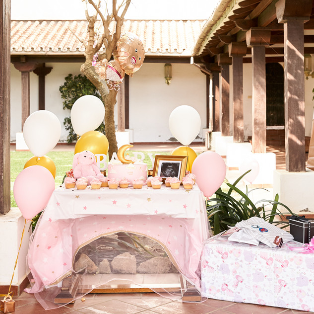 Marbella Events Baby Party Balloons Phot