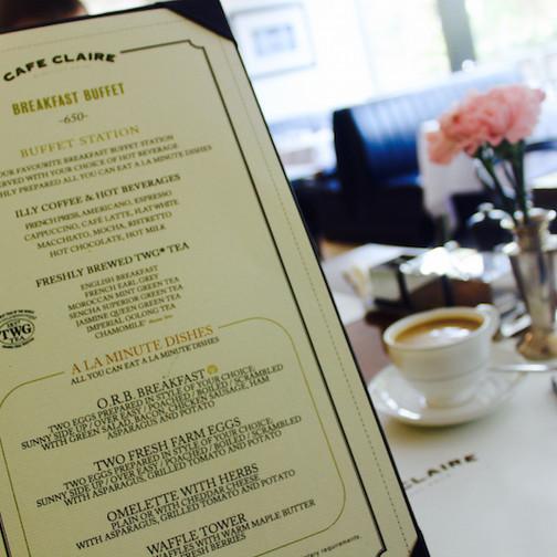 Cafe Claire Bangkok5