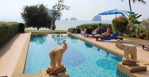 Thailand Travel Blog #5: Private villa in Krabi, Hot Springs & Emerald Pool