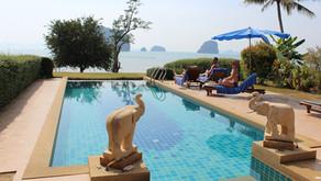 Thailand Travel Blog #5: Private villa in Krabi, Hot Springs & Emerald Pool