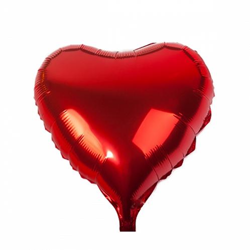 Red Heart Balloon / Globo de corazón