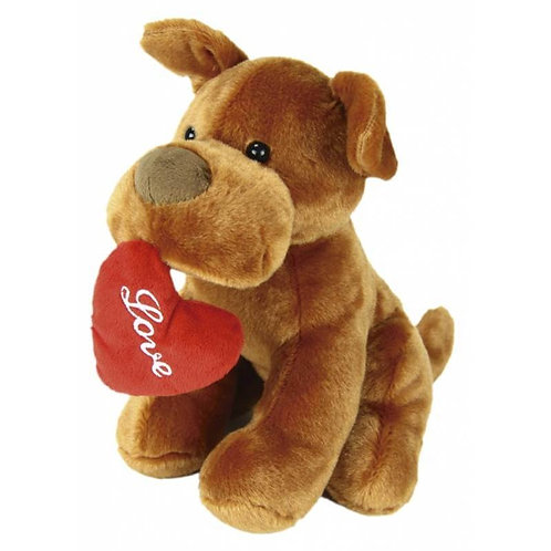 "Love Dog Toy / Peluche Perrito ""Love"""