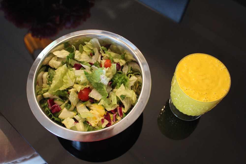 Mango Dressing for my Salad+Chicken