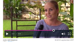 My interview for TV3 Estonia 7 O'clock News!