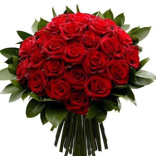 Bouquet of 24 Roses / Ramo de 24 Rosas Rojas