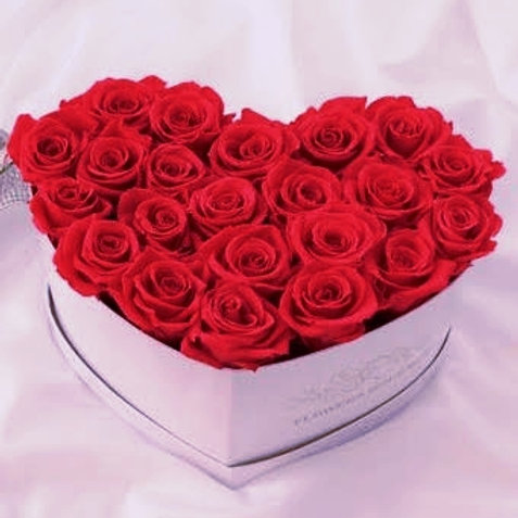 Deluxe Flower Box / Caja Corazón De Luxe