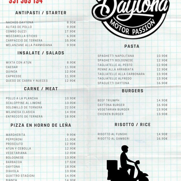Daytona Marbella Home Food Delivery 2