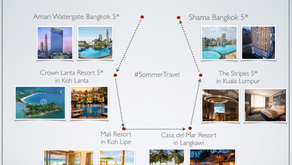 My travel plan for Thailand & Malaysia!