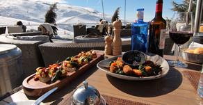 Lunch at Hotel El Lodge, Sierra Nevada