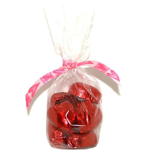 Red Heart Chocolates / Corazones de chocolate