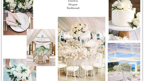 My Top 3 Favorite Wedding Themes