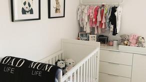 Sneak peak of our Baby Girl's Nursery!