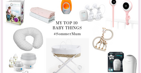 My Top 10 Favourite Baby Things