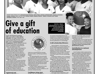 Give a Gift of Education