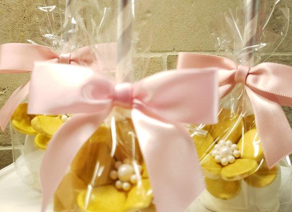 Cake Pop- Wedding -Pink & Gold Bridal Bliss- 12pk