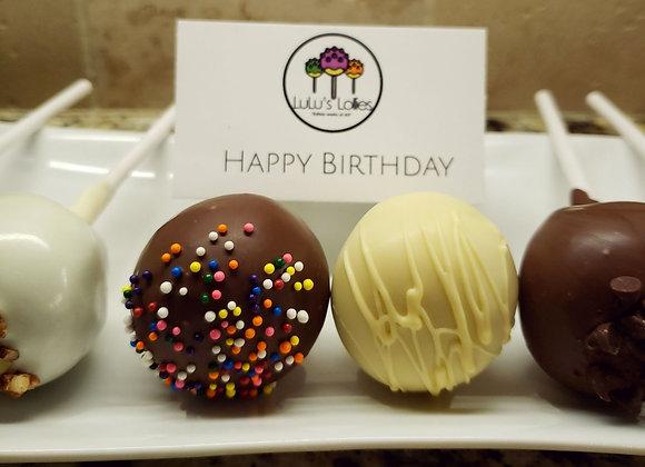 Cake Pop-Lulu's Birthday Celebration Flight-6pk