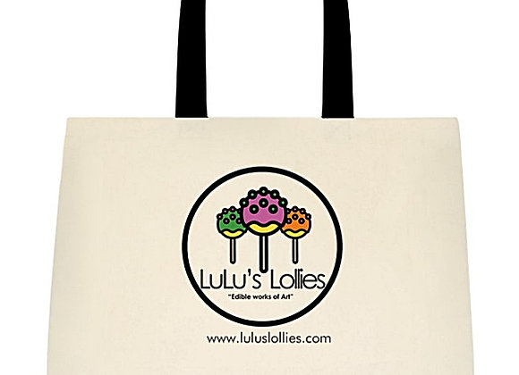 Two-Tone Deluxe Cotton Tote Bag