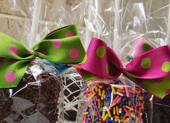 Jumbo Marshmallow Pops-Celebration-6pk