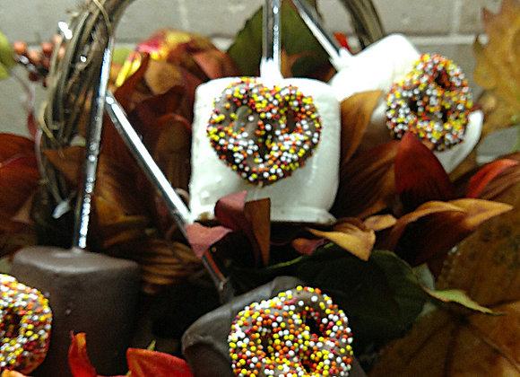 Jumbo Marshmallow Pop-Fall in Love- 6pk