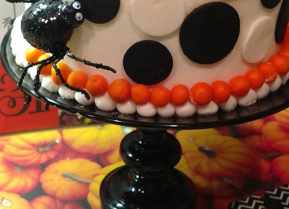 Fondant Cake-Halloween Custom-8in