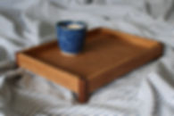 houten dienblad, wooden tray, japanese woodwork, wooden accessories, bureau accessoires, fine woodwork