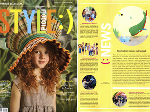 Our plastic free whale in Style Piccoli magazine