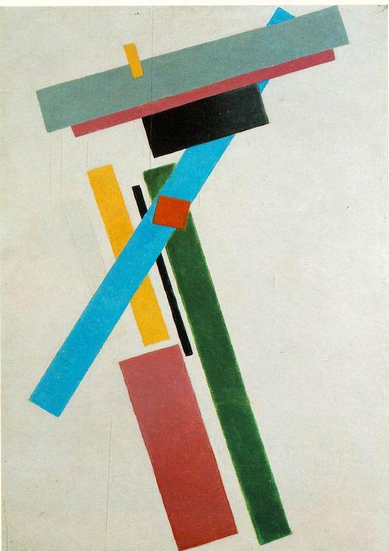 Malevich, Suprematism, 1915