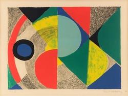 Sonia Delaunay, Horizontale, 1970
