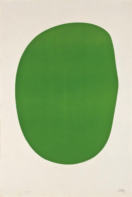Ellsworth Kelly, Green, 1964-65