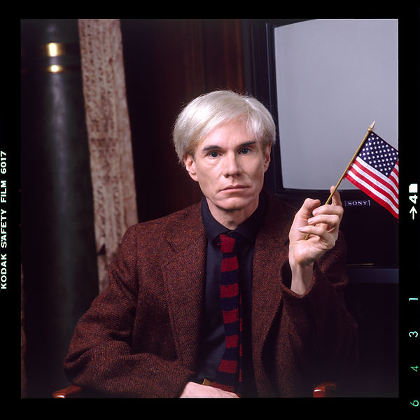 Karen Bystedt, Andy Warhol. Reproduced w