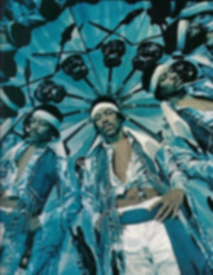 5. Jimi Hendrix in Kaleidoscope, 1969 (1